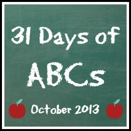 31 days of ABC letter learning activities