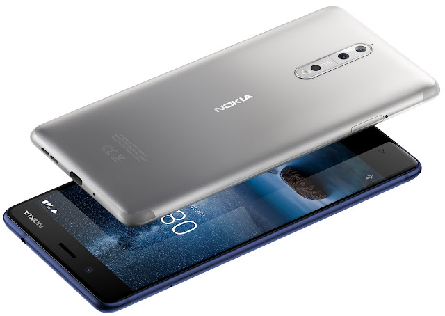 Nokia 8 takes its first bite of Oreo™ @HMDGlobal #AnroidOreo #Nokia8