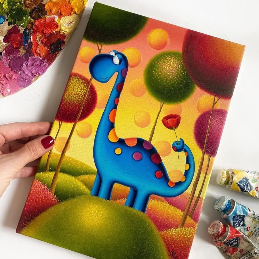 09-The-Dino-Gabriela-Elgaafary-www-designstack-co