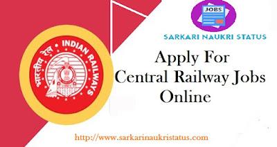 Central Railway Job