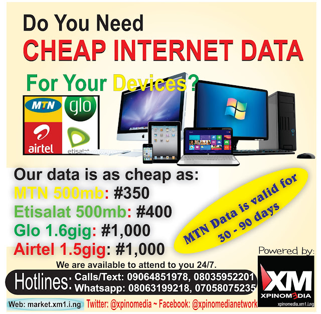 vtu, mtn, glo, xpinomedia, nigeria, internet, data, business, website, web design, xpino, precious ikpoza