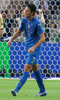 Fabio Grosso, who scored Italy's winning penalty in the final