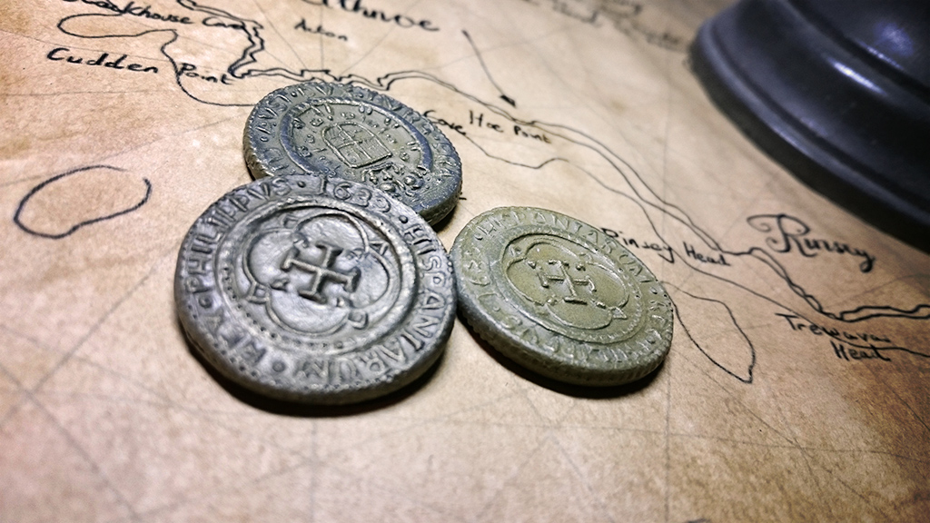 10 Digits: Cold Casting Pirate Coins