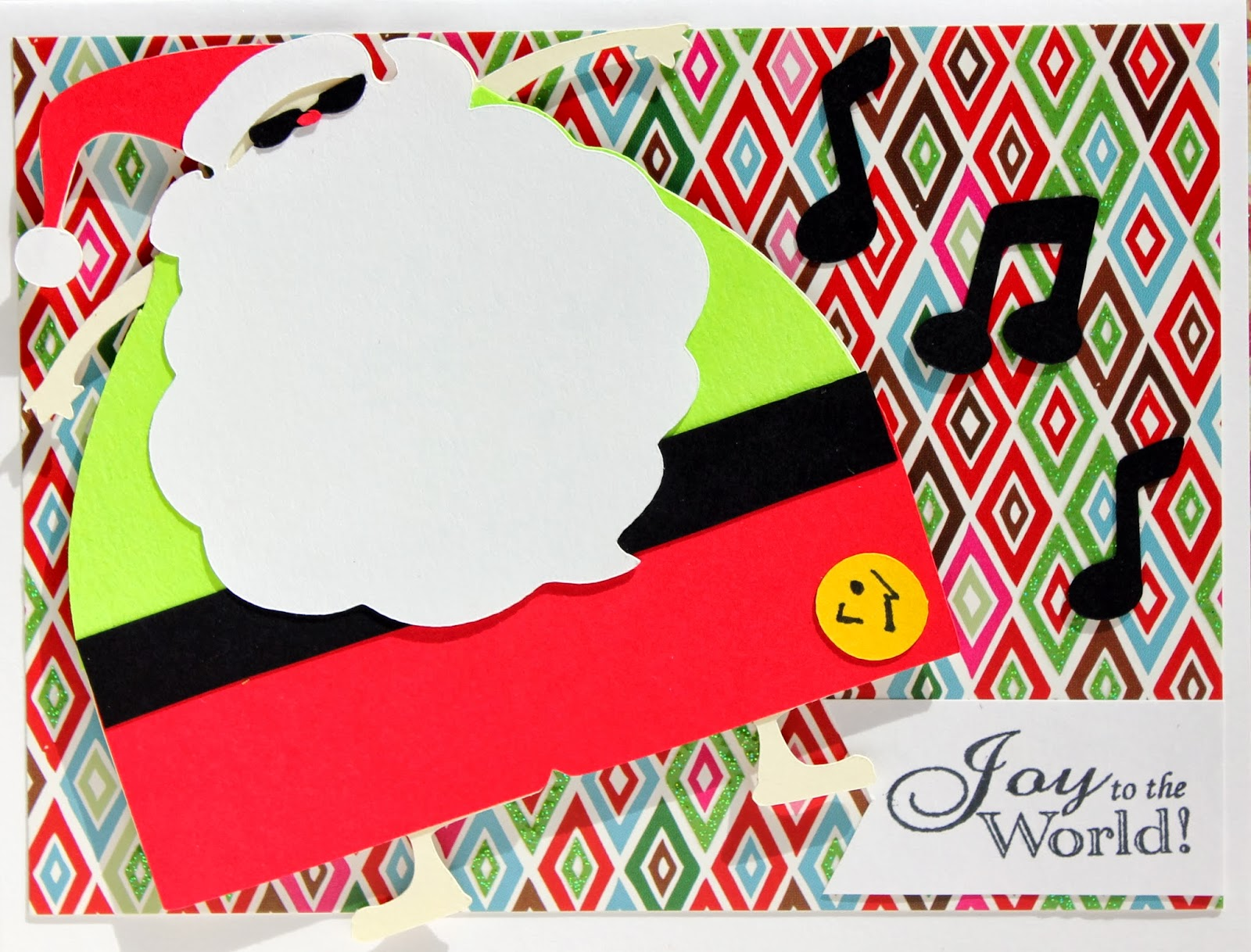 Zumba Christmas Images.The Cropping Canuck Zumba Santa Christmas Card Day 7