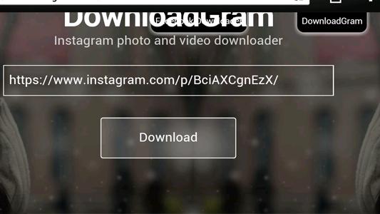 تحميل فيديو من الانستقرام بدون برامج