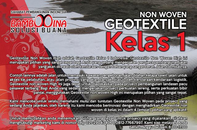 Jual Geotextile Non Woven & Woven di Denpasar
