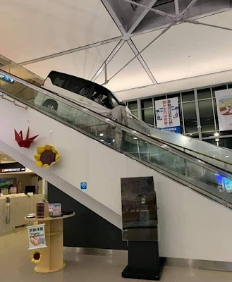 Cara memasukan mobil kedalam Mall