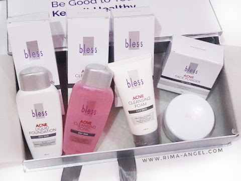 Review Bless Cosmetics for Acne Skin and Oily Skin