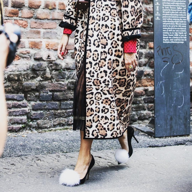street style leopard print pretty heels