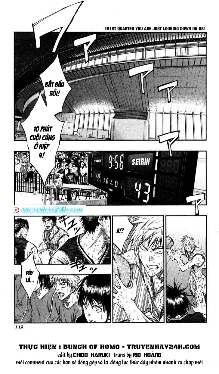 Kuroko No Basket chap 161 trang 1