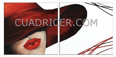 http://www.cuadricer.com/cuadros-pintados-a-mano-por-colores/cuadros-rojos-granates/cuadros-modernos-online-figuras-rojos-dormitirios-salon-1590r.html