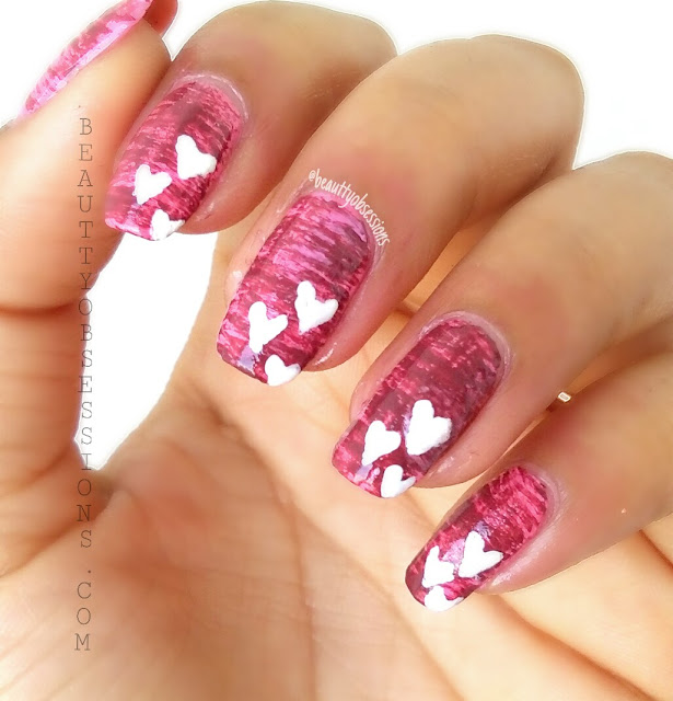 2 Easy Valentine's Day Nailarts Tutorial | #ShareYourLove