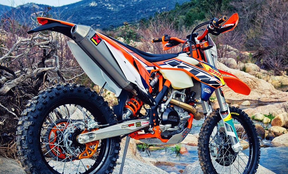 KTM 450 EXC Bikes Back View