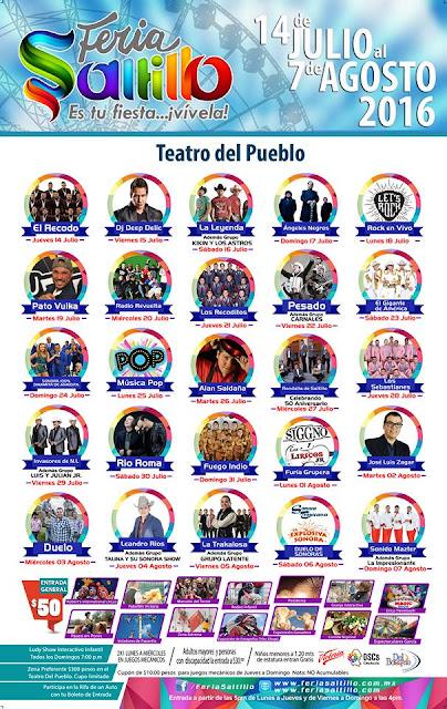 teatro del pueblo feria saltillo 2016