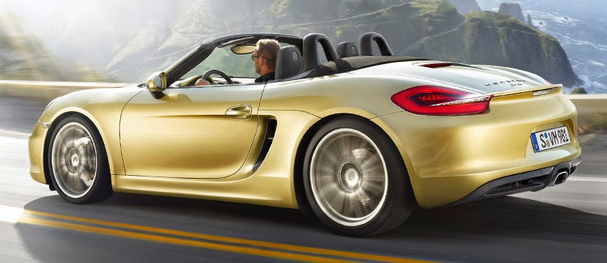 The Porsche Boxster GTS