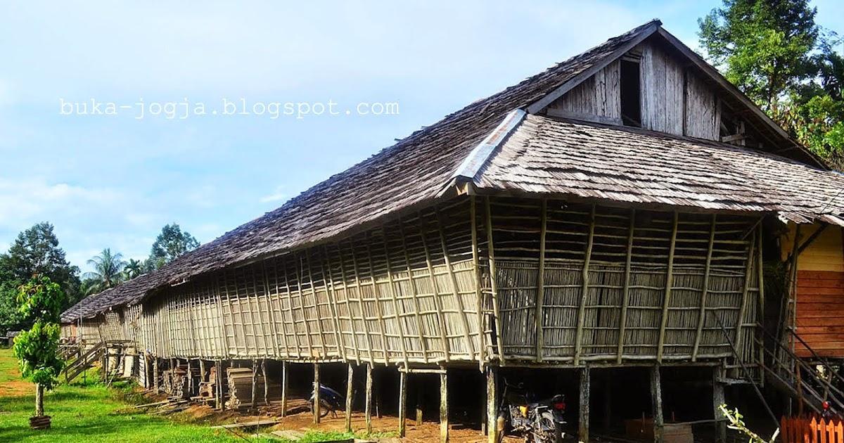 Rumah Adat Kalimantan Tengah Dinamakan