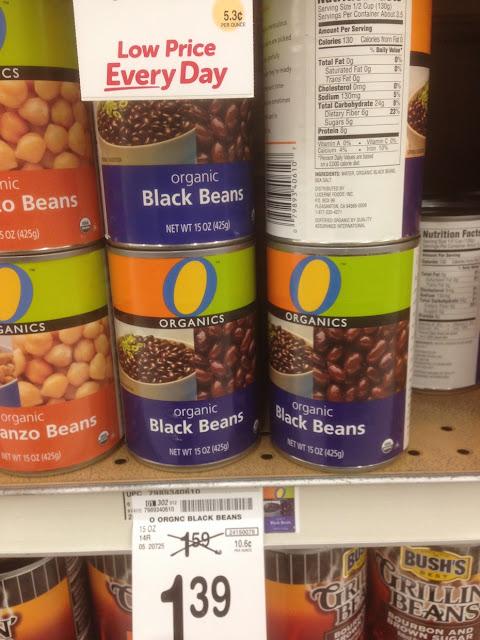 Black Beans, Organics - Safeway