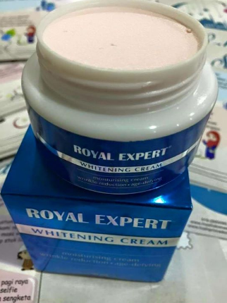 royal expert white cream murah