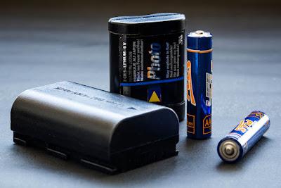 Diferentes tipos de baterías