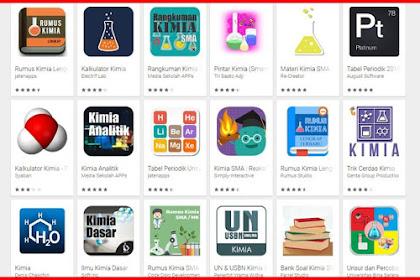 Download 10 Aplikasi Kimia untuk Pembelajaran Sekolah
