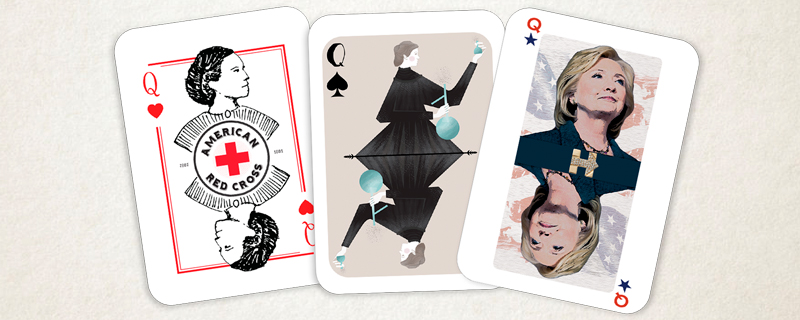 Woman Card Project; las mujeres cortan la baraja