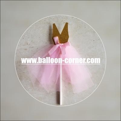 Topper Kue / Cake Topper Bentuk Ballet