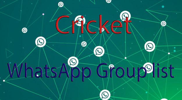Cricket WhatsApp Group links - NKinformation