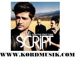 Chord Guitar The Script - Arms Open