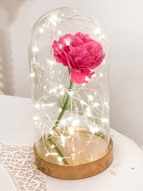 How to Make: DIY Beauty & The Beast Bell Jar for Under £10