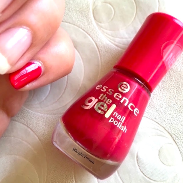 essence the gel nail polish 92 red carpet jel oje 3