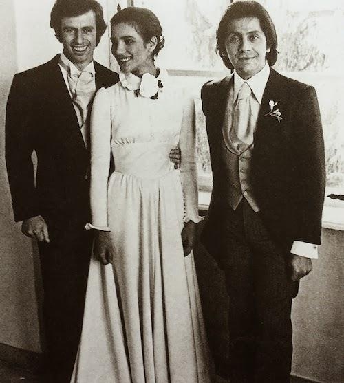 Willy jr. , Sonia and Valentino Garavani