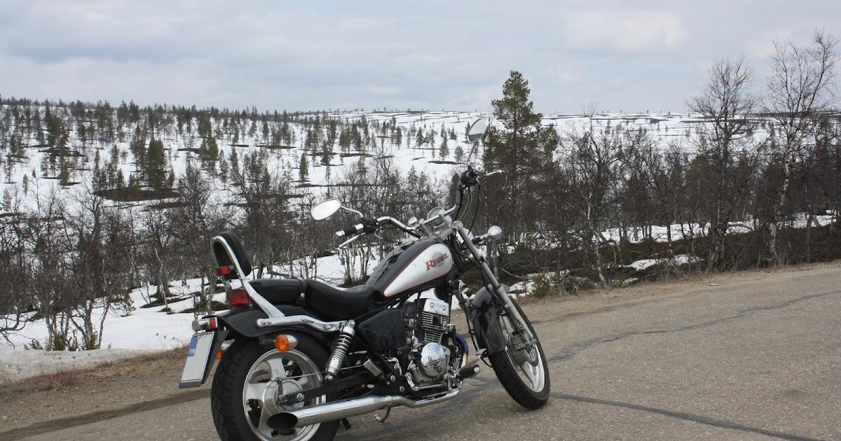 Moottoripyörällä Lappiin