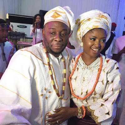 First Photos From Comedian Jedi's Traditional Wedding Today