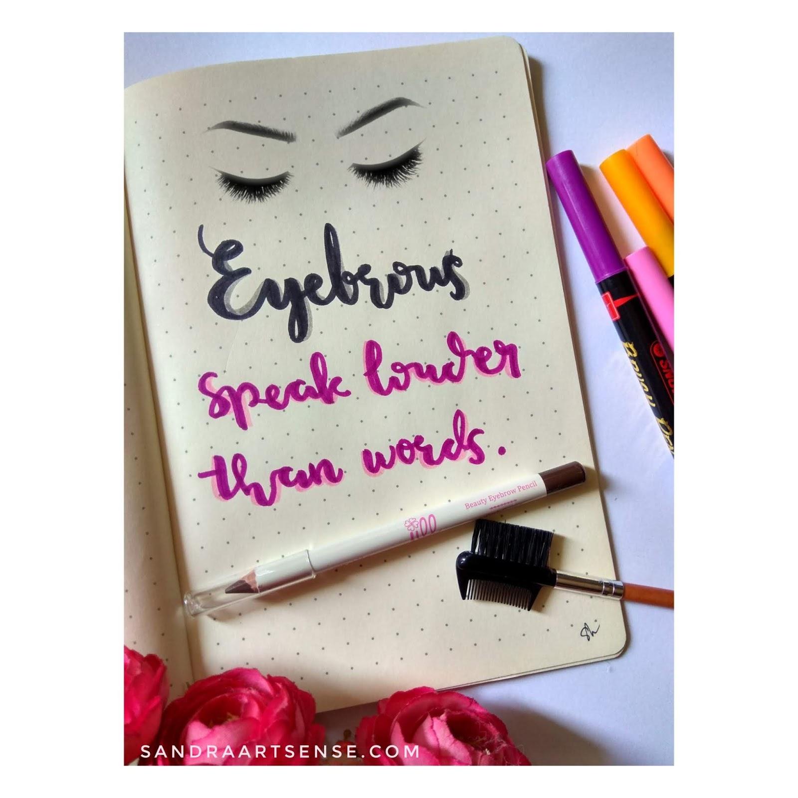 Jill Beauty Eye Brow Pencil Dark Brown Spec Dan Daftar Harga Gel Liner Black Review Eyebrow Demi Alis Cantik Alami