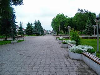 Ходорів. Майдан Шевченка
