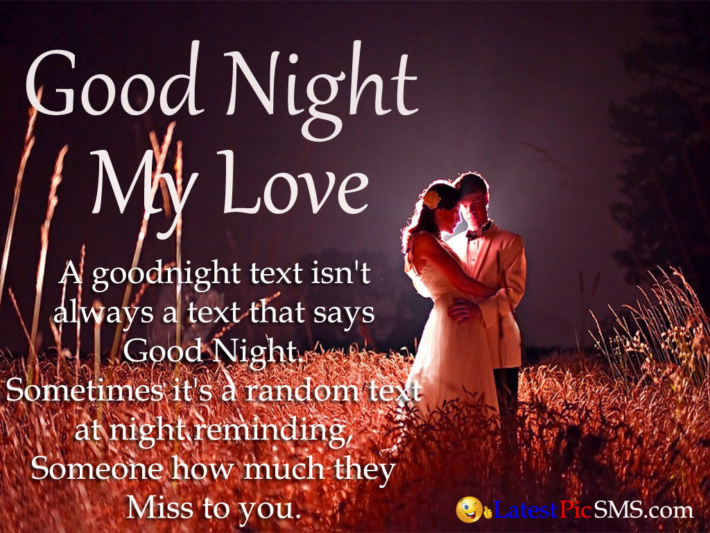 good night miss you picture sms - Good Night Love Messages with Photos for Whatsapp & Facebook
