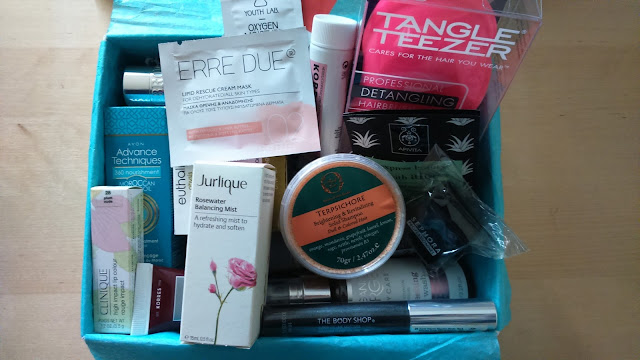 Welcoming 2016 with a Beauty Box with 2015 Favorites
