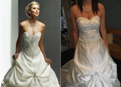 43b0d4491 Razones por las que No debes comprar tu vestido de novia por internet