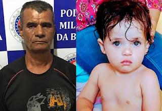 Padrasto confessa que estuprou enteada e diz que a criança bateu a cabeça após o ato