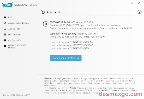 ESET NOD32 Antivirus 11 Licencias _ captura 4