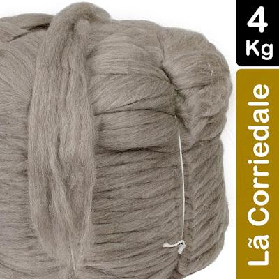 lã para maxi crochê
