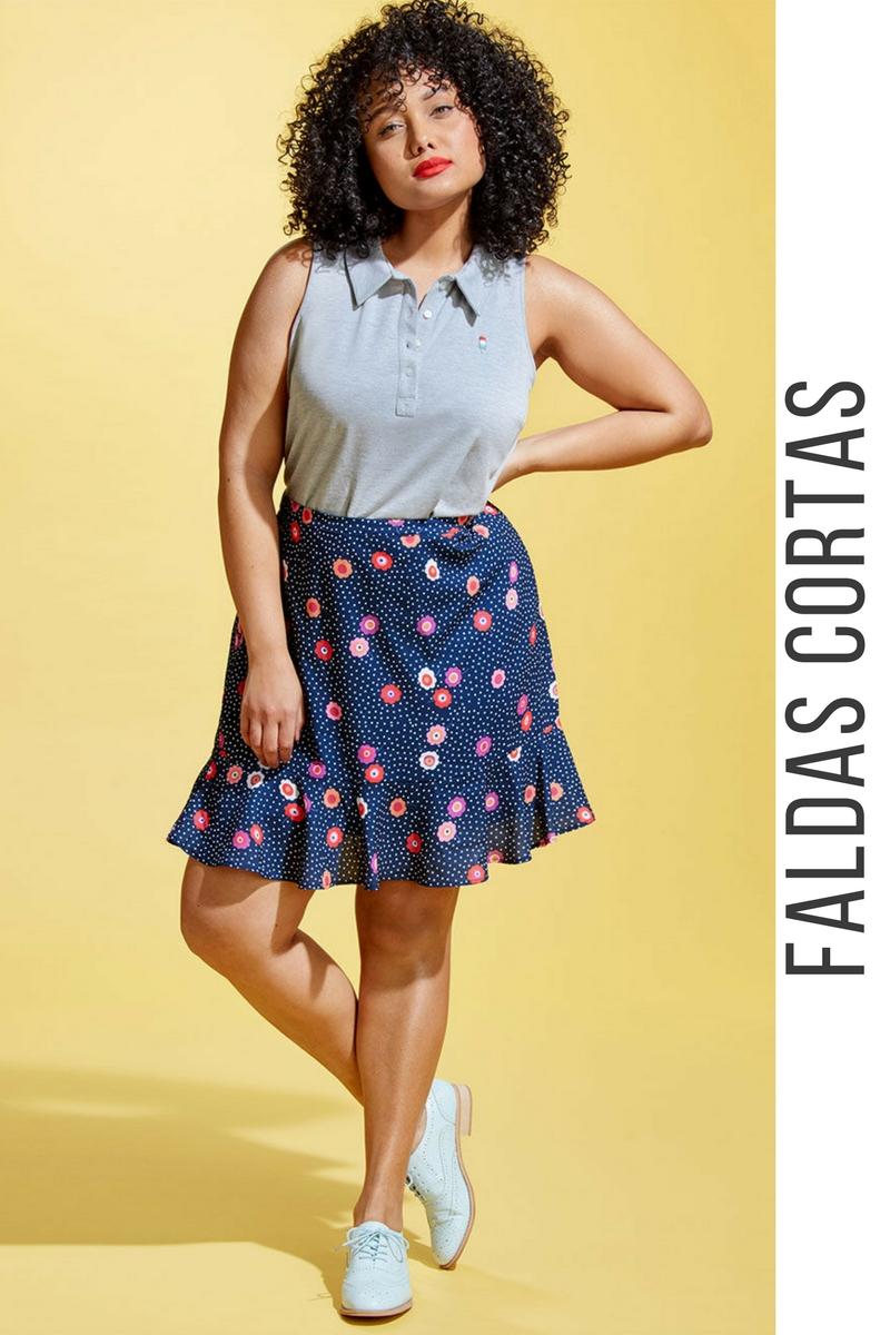 0dd2b0415 43 Modelos de Faldas Cortas que NO te Puedes Perder ¡Tendencias ...