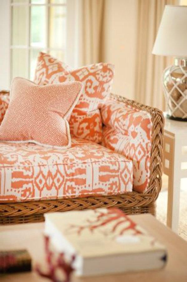 Ciao! Newport Beach: Color Inspiration: Mango And Peach
