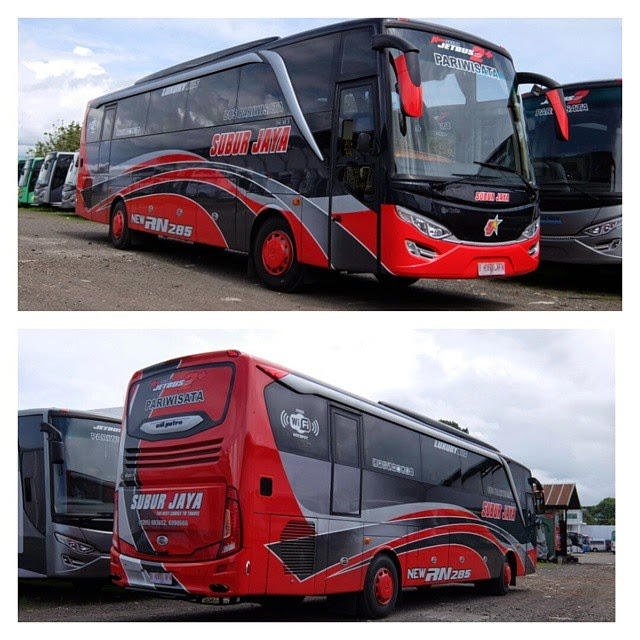 Jetbus HD 2 SETRA Karoseri Adi Putro