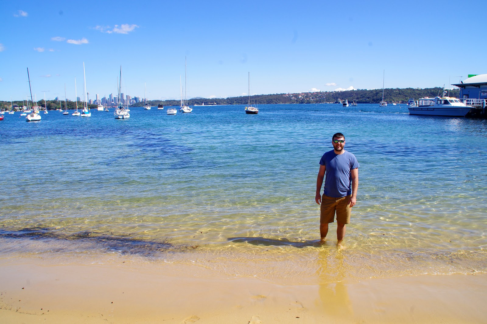 testing the water at watsons bay