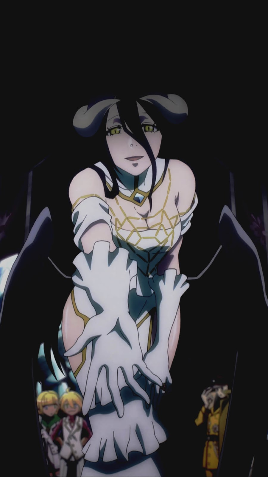 Albedo Overlord Wallpaper Korigengi Anime Wallpaper Hd Source