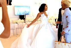 Watch a video compilation of snaps from Minnie's wedding