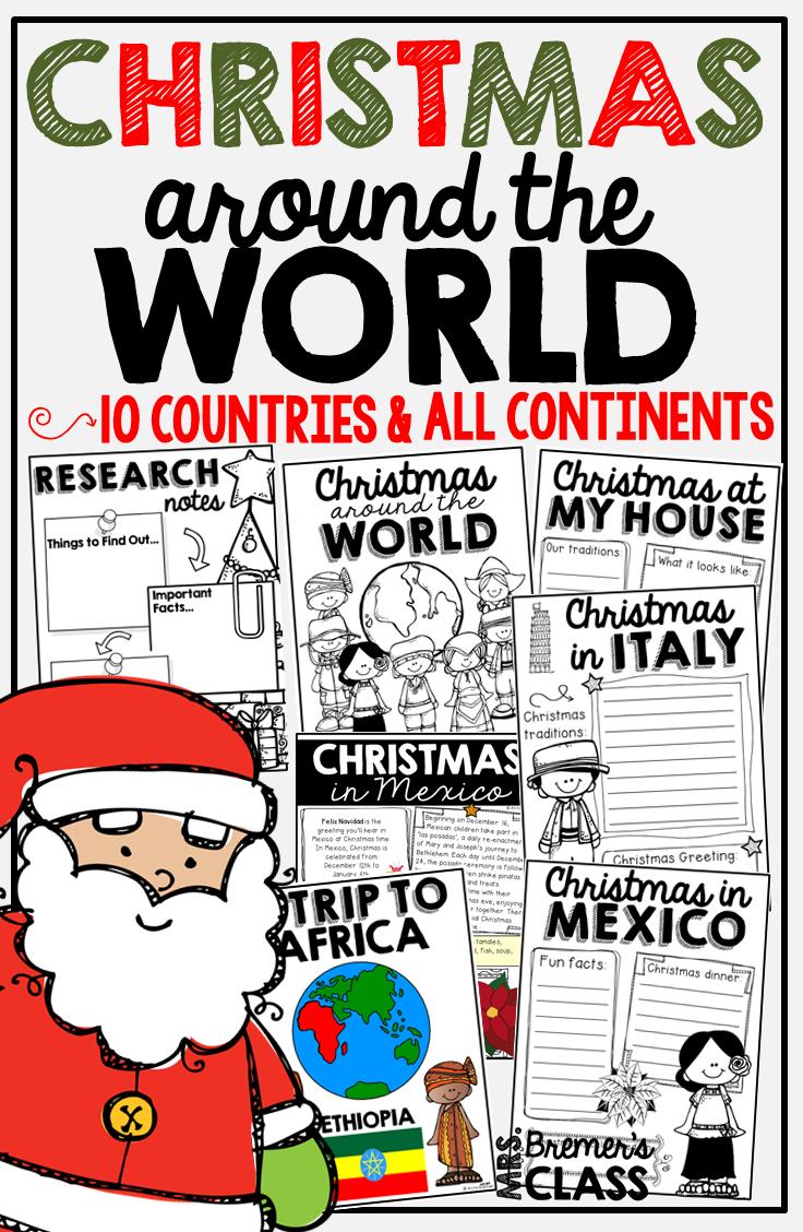 Mrs. Bremer\'s Class: Christmas Around the World!