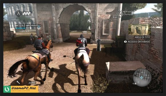 Assassin's Creed Brotherhood Gameplay Screenshot