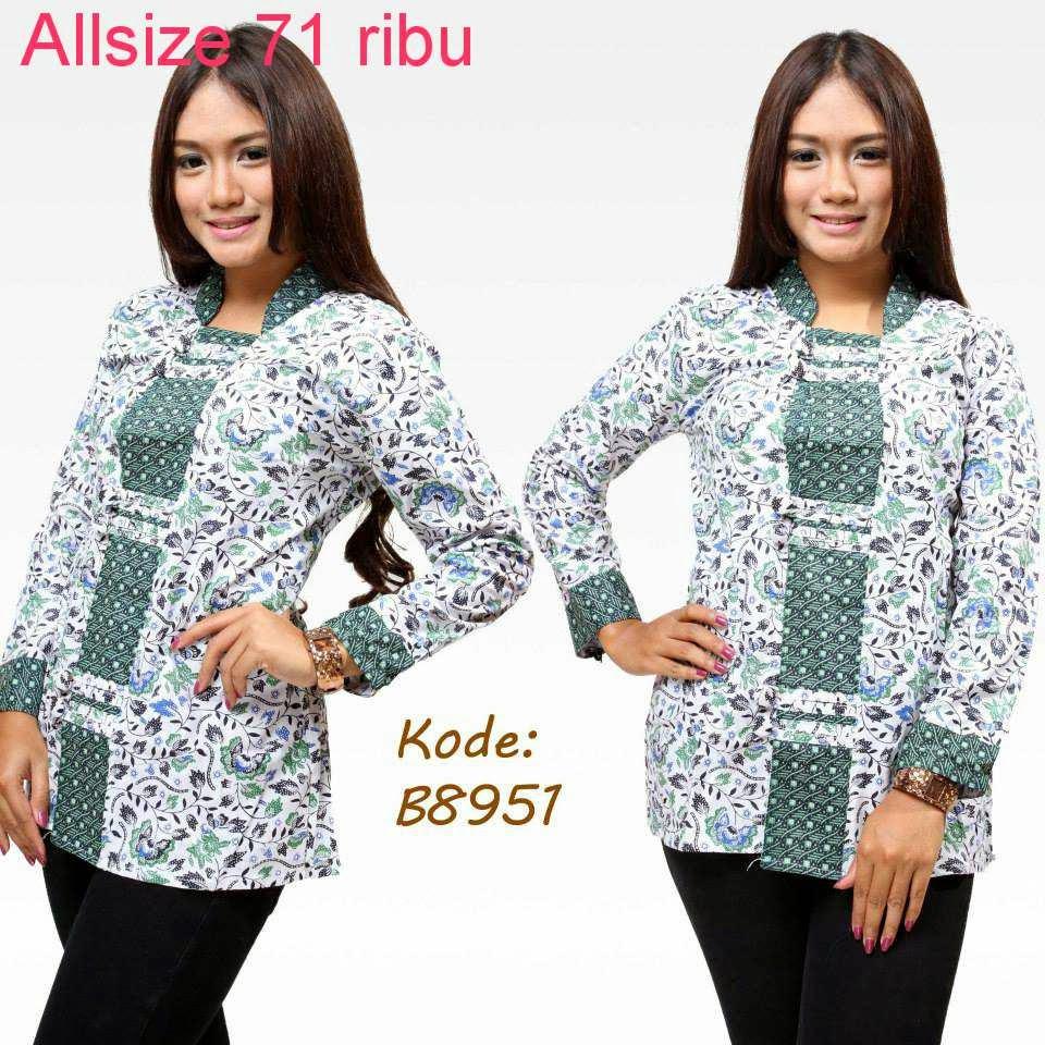 Baju Batik Guru Perempuan: Model Baju Batik Terbaru Untuk Guru